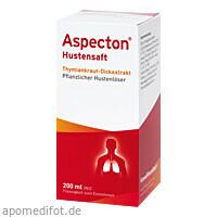 ASPECTON HUSTENSAFT, 200 ML, Hermes Arzneimittel GmbH