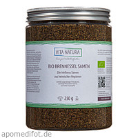 BIO BRENNESSELSAMEN GANZ, 250 G, Vita Natura GmbH & Co. KG