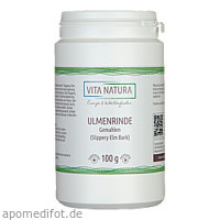 AMERIK.ULMENRINDE SLIPPERY ELM BARK, 100 G, Vita Natura GmbH & Co. KG