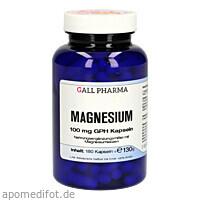 Magnesium 100 mg GPH Kapseln, 180 ST, Hecht-Pharma GmbH