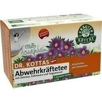 DR. KOTTAS Abwehrkräftetee Filterbeutel, 20 ST, Hecht Pharma GmbH GB - Handelsware
