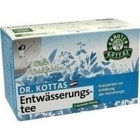 DR. KOTTAS Entwässerungstee Filterbeutel, 20 ST, Hecht Pharma GmbH GB - Handelsware