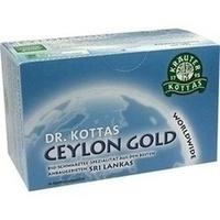 DR. KOTTAS Ceylon Gold Filterbeutel, 20 ST, Hecht Pharma GmbH GB - Handelsware