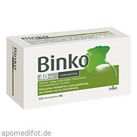 BINKO 40 MG, 120 ST, Klinge Pharma GmbH