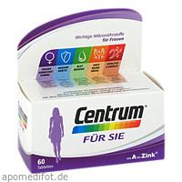Centrum für Sie (Capletten), 60 ST, GlaxoSmithKline Consumer Healthcare