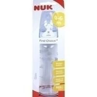 NUK FC+ Glasflasche Si 1M 240ml, 1 ST, Mapa GmbH