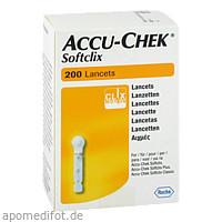 ACCU CHEK Softclix Lancets, 200 ST, 1001 Artikel Medical GmbH