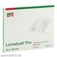 Lomatuell Pro 10x10cm steril, 8 ST, Lohmann & Rauscher GmbH & Co. KG