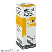 AZELASTIN-COMOD 0,5 mg/ml Augentropfen, 10 ML, URSAPHARM Arzneimittel GmbH