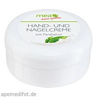 mea Hand- & Nagelcreme samtweich, 100 ML, Richard A.L.Witt GmbH