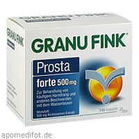 GRANU FINK Prosta forte 500 mg, 140 ST, Omega Pharma Deutschland GmbH