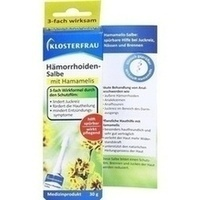 Klosterfrau Hämorrhoidensalbe, 30 G, MCM KLOSTERFRAU Vertr. GmbH