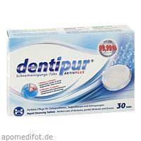 dentipur Schnellreinigungstabletten, 30 ST, Helago-Pharma GmbH & Co. KG
