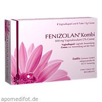 Fenizolan Kombi 600mg Vaginalovulum/2% Creme, 1 P, Exeltis Germany GmbH