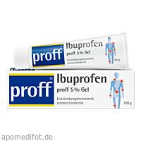 Ibuprofen proff 5 % Gel, 100 G, Dr. Theiss Naturwaren GmbH