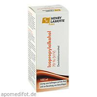 Isopropylalkohol 70% (V/V), 100 ML, Henry Lamotte Oils Gmb