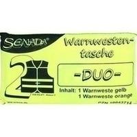 Senada Warnweste gelb und orange Duo Tasche, 1 ST, Erena Verbandstoffe GmbH & Co. KG