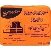 Senada Warnweste orange Family Tasche, 1 ST, Erena Verbandstoffe GmbH & Co. KG