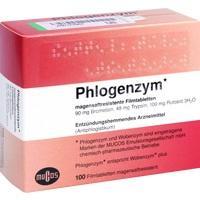Phlogenzym magensaftresistente Filmtabletten, 100 ST, kohlpharma GmbH