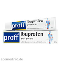 Ibuprofen proff 5 % Gel, 50 G, Dr. Theiss Naturwaren GmbH