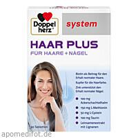 Doppelherz Haar Plus system, 30 ST, Queisser Pharma GmbH & Co. KG