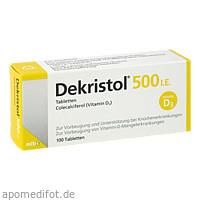 Dekristol 500 I.E. Tabletten, 100 ST, Mibe GmbH Arzneimittel