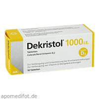 Dekristol 1000 I.E. Tabletten, 50 ST, Mibe GmbH Arzneimittel