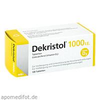 Dekristol 1000 I.E. Tabletten, 100 ST, Mibe GmbH Arzneimittel