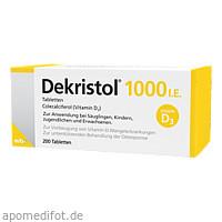 Dekristol 1000 I.E. Tabletten, 200 ST, Mibe GmbH Arzneimittel