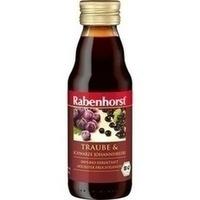 Rabenhorst Traube&Schwarze Johannisbeere Bio Mini, 125 ML, Haus Rabenhorst O. Lauffs GmbH & Co. KG