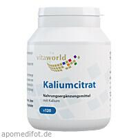 Kaliumcitrat 560mg, 120 ST, Vita World GmbH