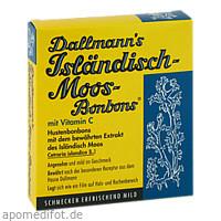 Dallmanns Isländisch Moos-Bonbons, 20 ST, Dallmann's Pharma Candy GmbH
