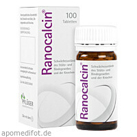Ranocalcin Tabletten, 100 ST, Homöopathisches Laboratorium Alexander Pflüger GmbH & Co. KG