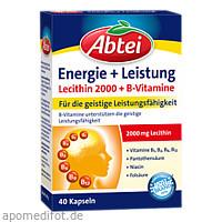 Abtei Lecithin 2000 Plus B-Vitamine, 40 ST, Omega Pharma Deutschland GmbH