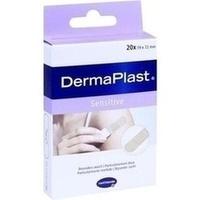 DERMAPLAST sensitive Pflasterstrips 19x72 mm, 20 ST, PAUL HARTMANN AG