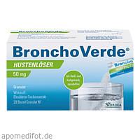 Bronchoverde Hustenlöser 50mg Granulat, 20 ST, Klinge Pharma GmbH