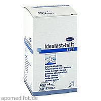 Idealast-haft color Binde 10cmx4m blau, 1 ST, Paul Hartmann AG