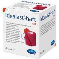Idealast-haft color Binde 6cmx4m rot, 1 ST, Paul Hartmann AG