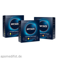 MYSIZE Testpack 49 53 57 Kondome, 3X3 ST, IMP GmbH International Medical Products