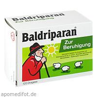 Baldriparan Zur Beruhigung, 120 ST, GlaxoSmithKline Consumer Healthcare