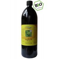 Argan Öl BIO-Premium 100% Rohkost Violett Glas, 1000 ML, Globalis - Oase der Natur