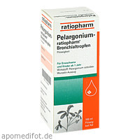 Pelargonium-ratiopharm Bronchialtropfen, 100 ML, ratiopharm GmbH