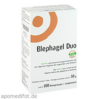 Blephagel Duo 30g + Pads, 1 P, Thea Pharma GmbH