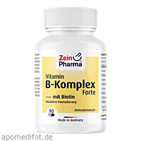 Vitamin B Komplex + Biotin Forte, 90 ST, Zein Pharma - Germany GmbH