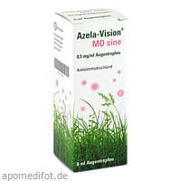 Azela-Vision MD sine 0.5mg/ml Augentropfen, 6 ML, Omnivision GmbH