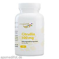 Citrullin 500, 120 ST, Vita World GmbH