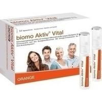 biomo Aktiv Vital Trinkflaschen 14 Tagesportionen, 1 ST, Biomo-Vital GmbH