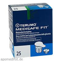 TERUMO Medisafe Fit Blutzuckertestspitzen, 25 ST, Medita-Diabetes GmbH