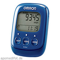 OMRON Schrittzähler HJ-325-EB Walking Style IV bla, 1 ST, Hermes Arzneimittel GmbH