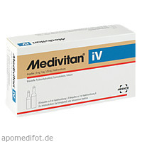 Medivitan iV Ampullen, 8 ST, Medice Arzneimittel Pütter GmbH & Co. KG